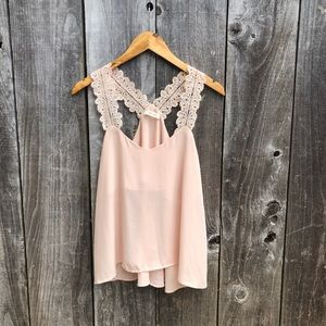 Anthropologie   Sis Sis   Lace Top